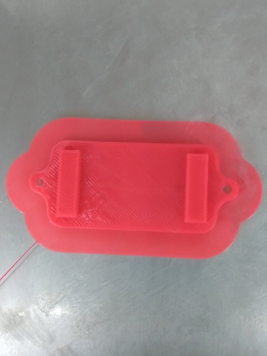 My 3D printed cover top for ultrasonic sensor #fablabcept #GenuinoDayAhmedabad #AEFest  https://t.co/3xDlnwxLwi