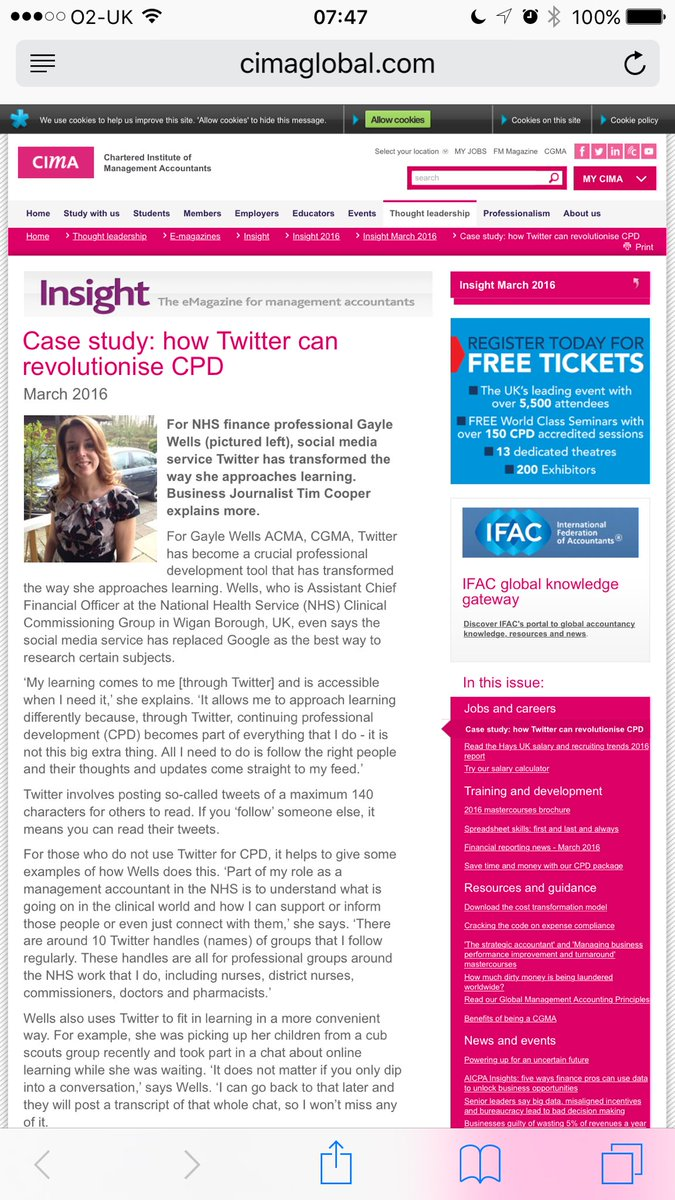 Great article on Twitter for HCP CPD by @gcwFFF https://t.co/xYMP5rq8XS using it to cross professional boundaries https://t.co/izsgncoF8W
