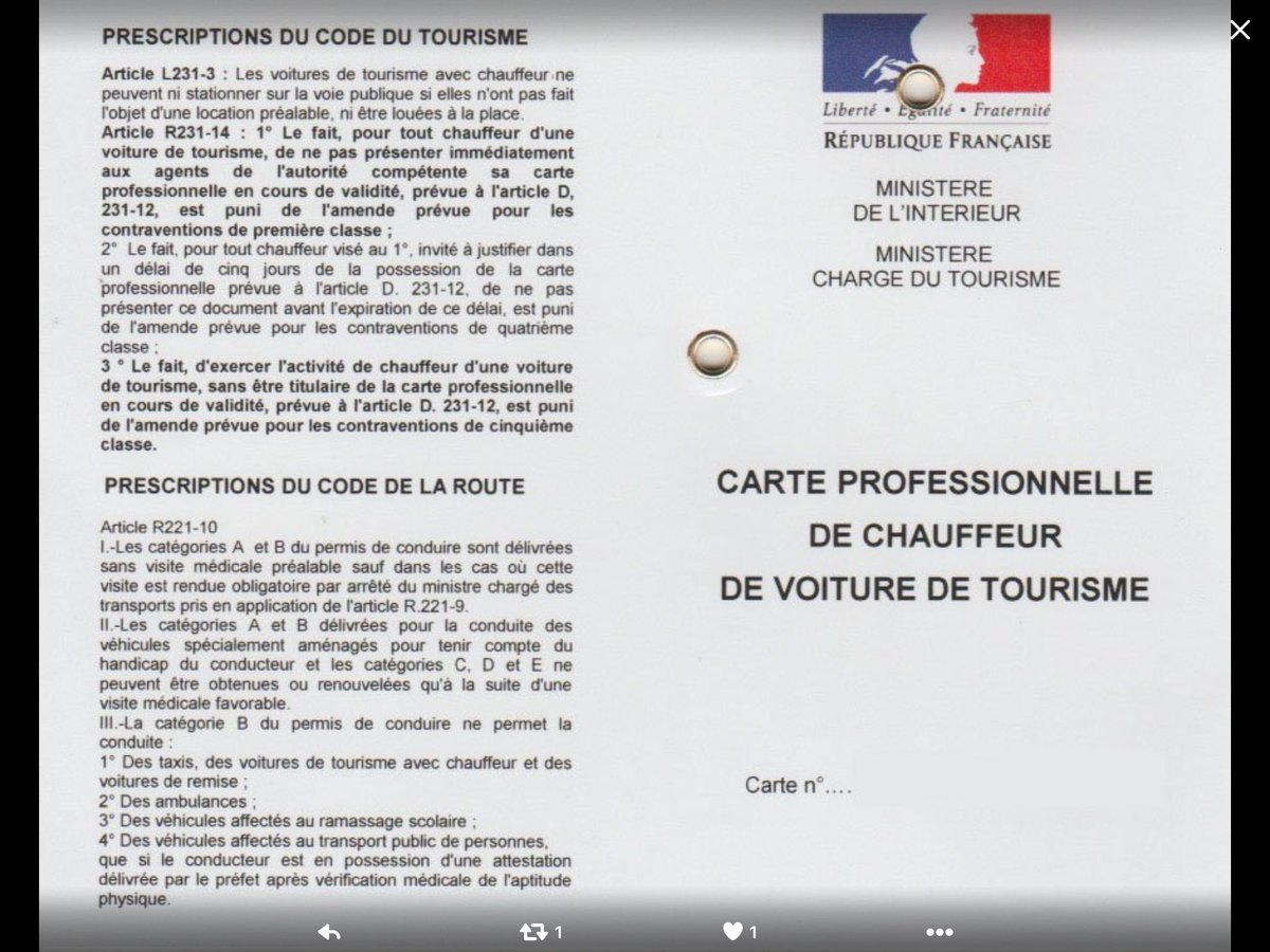 Voitures VTC On Twitter Christian1CUNY Propagande Visite Mdicale Obligatoire Pour Lobtention Et Le Renouvellement De La Carte