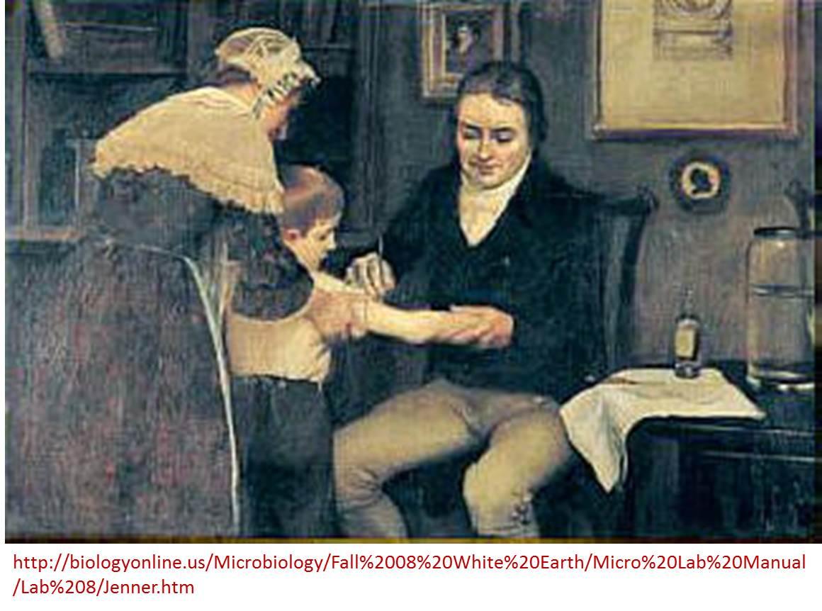 Edward Jenner (1749-1823) desarrolla la vacuna contra la viruela y la inocula sobre un niño sano #microMOOCSEM https://t.co/LMd3yWKpna