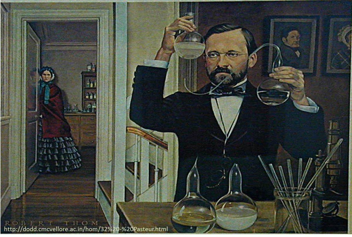 Louis Pasteur (1822-1895) demostró teoría del germen en una enfermedad infecciosa, vacuna anti-rabia #microMOOCSEM https://t.co/iMqEzhBd4O
