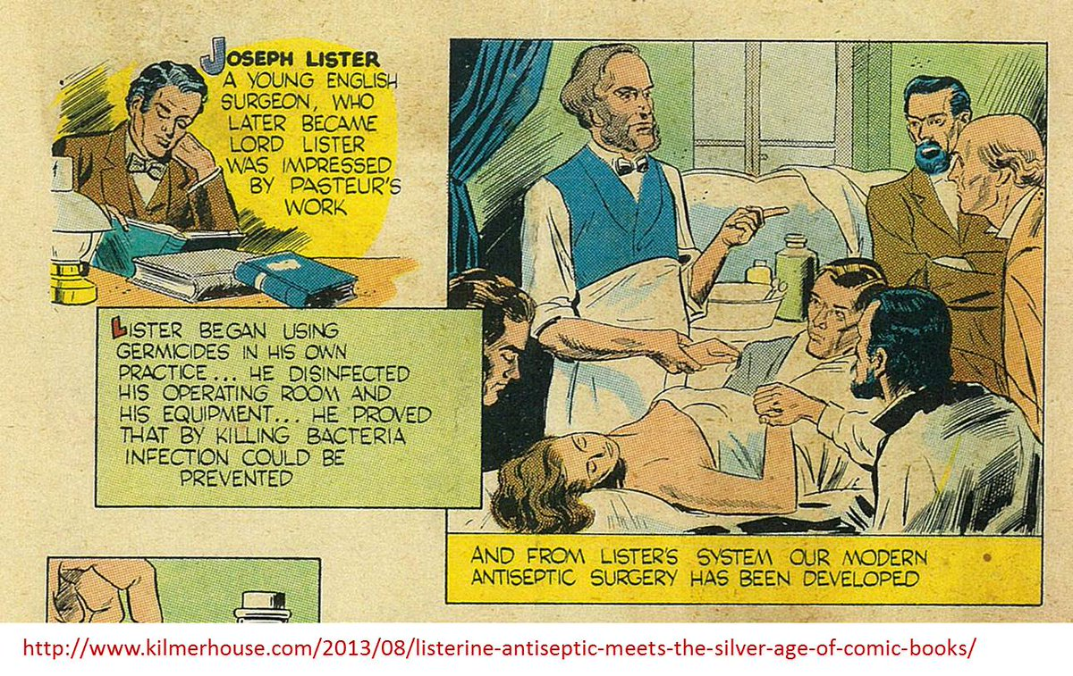 Joseph Lister (1827-1912) pionero en el uso de antisépticos y esterilización del material quirúrgico #microMOOCSEM https://t.co/kei1tQVzfU