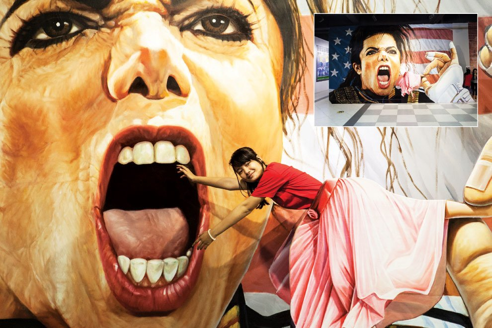 The Phnom Penh Post On Twitter Stung Meancheys D Arts World - Amazing 3d art museum lets visitors become part art
