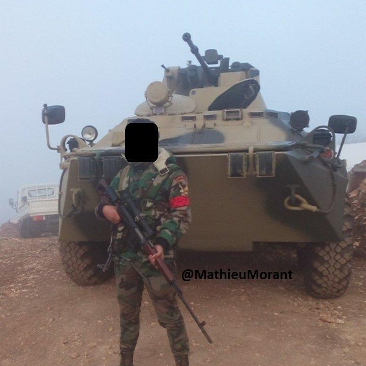 مدرعات BTR-82A الروسيه ودورها في الحرب الاهليه السوريه  CfCpD5tWsAEkmYo