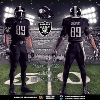 dbbe64426 Do you think the Raiders should change there uniforms for color rush nights  MNF and TNF pic.twitter.com jfDcErai0I