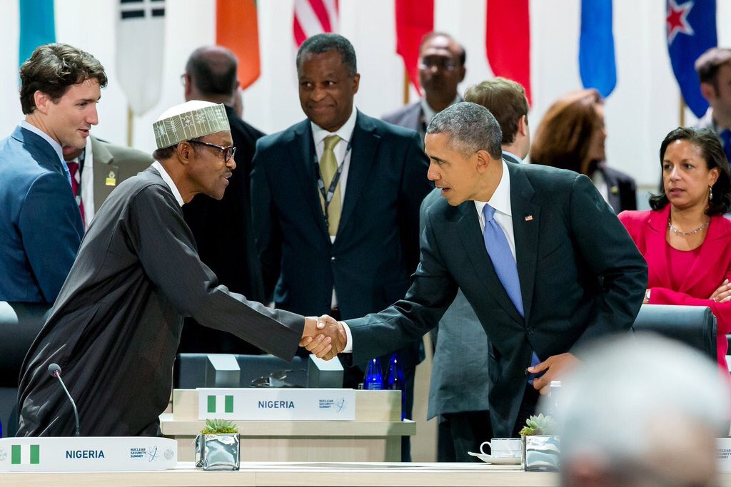 President Muhammadu Buhari at some sessions of the Nuclear Security Summit