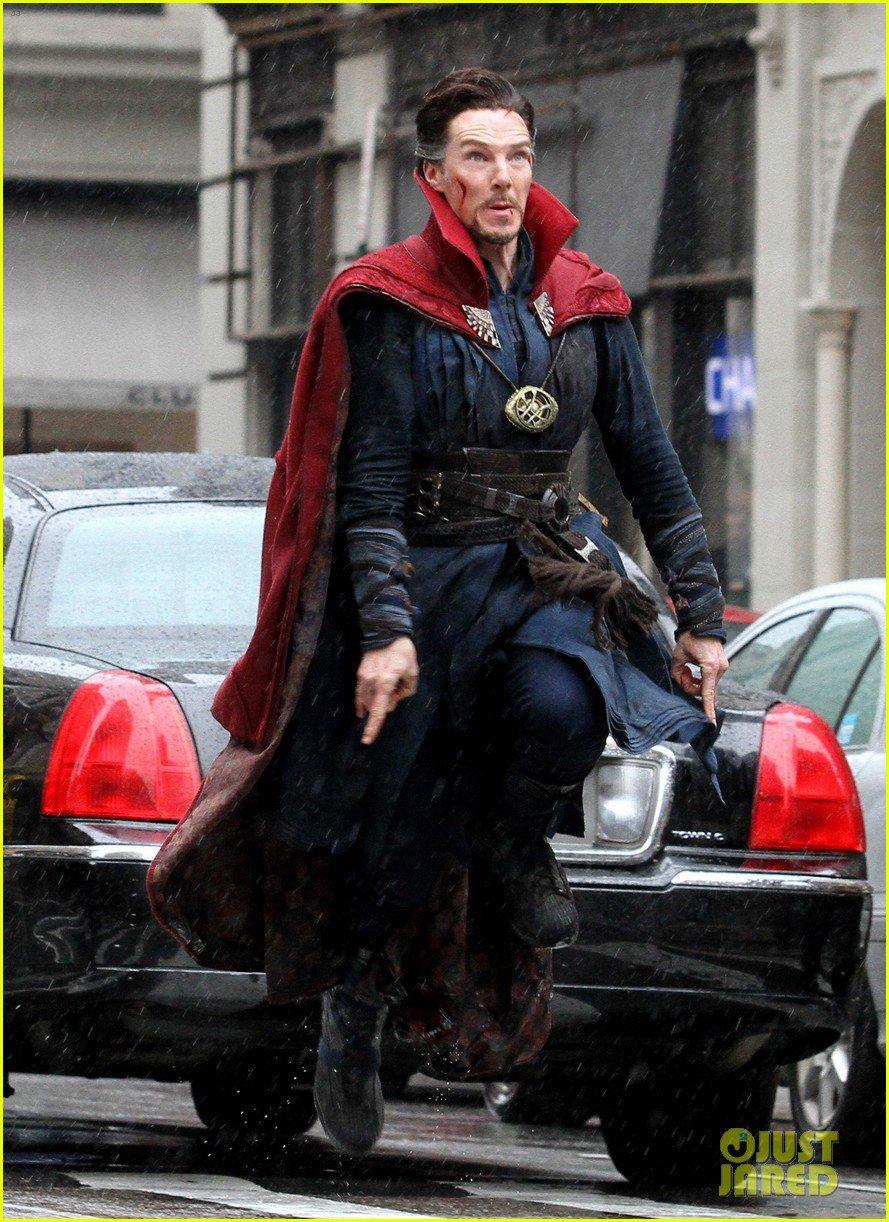 Marvel Studios' Doctor Strange Set Photos 22