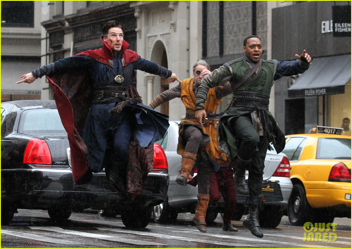 Marvel Studios' Doctor Strange Set Photos 21