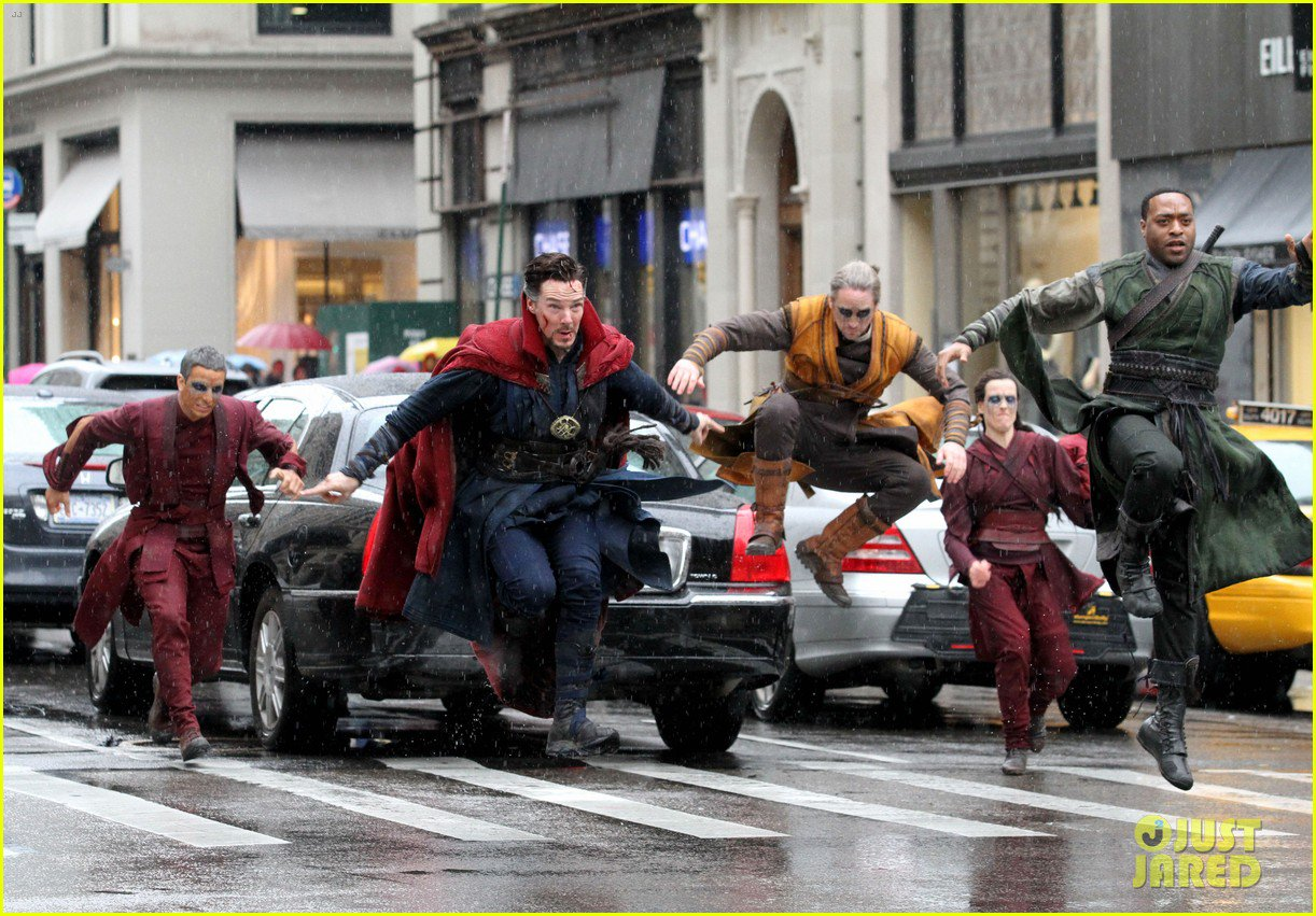 Marvel Studios' Doctor Strange Set Photos 20