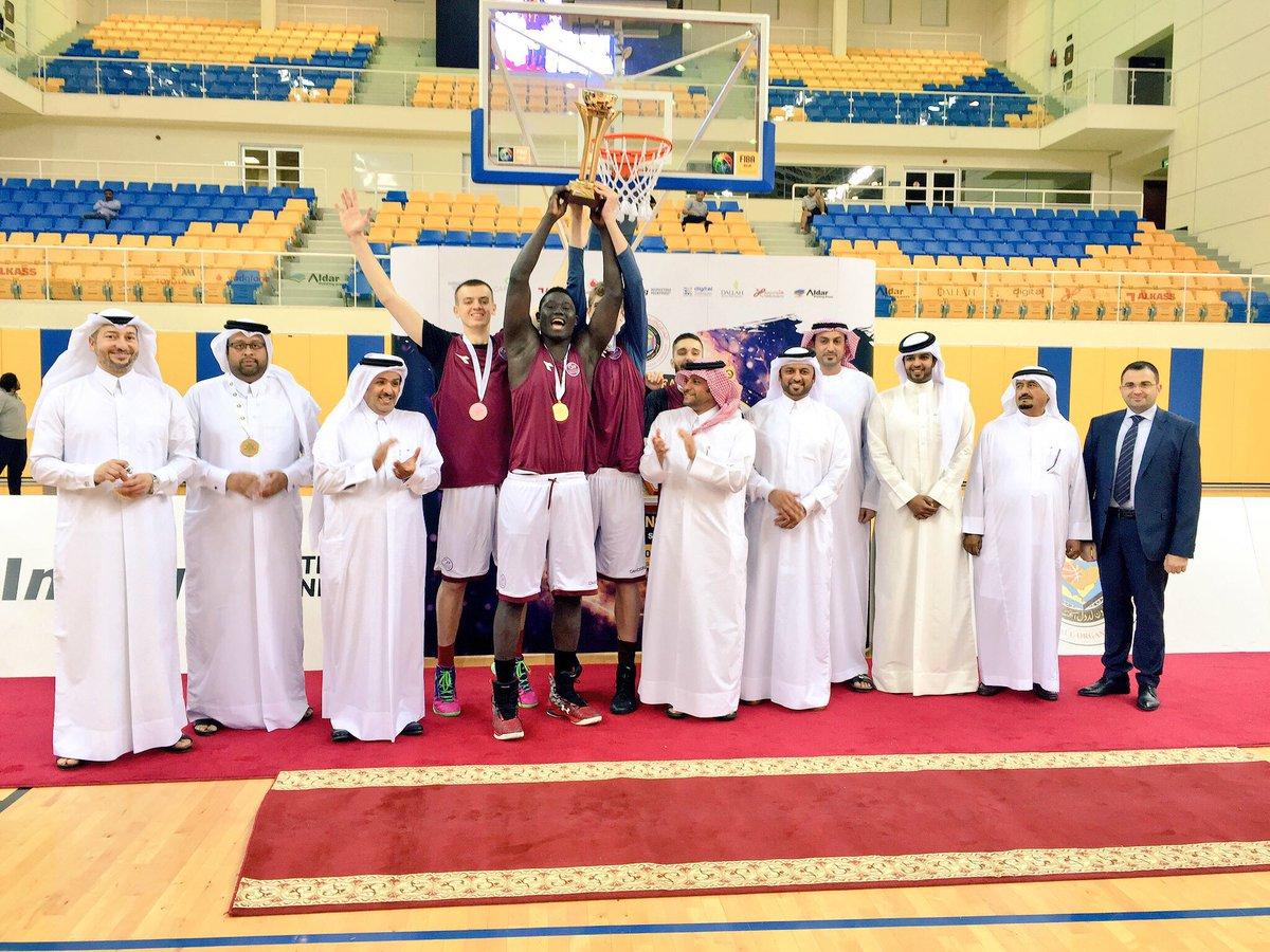 سيطرة قطرية على بطولة السلة الخليجية