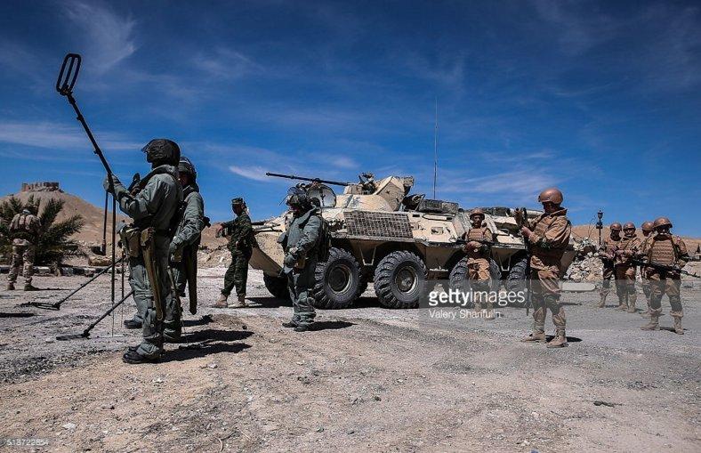 Бронетехника в антитеррористической войне в сирии