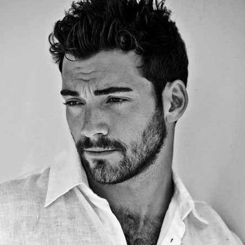 Sexy hair style for men