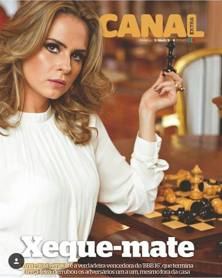 Olha ela na Canal Extra! A matéria você lê no nosso site (https://t.co/RuQVuBt4m6) só amanhã #BBB16 @anapaularenault https://t.co/CBaHus0slV