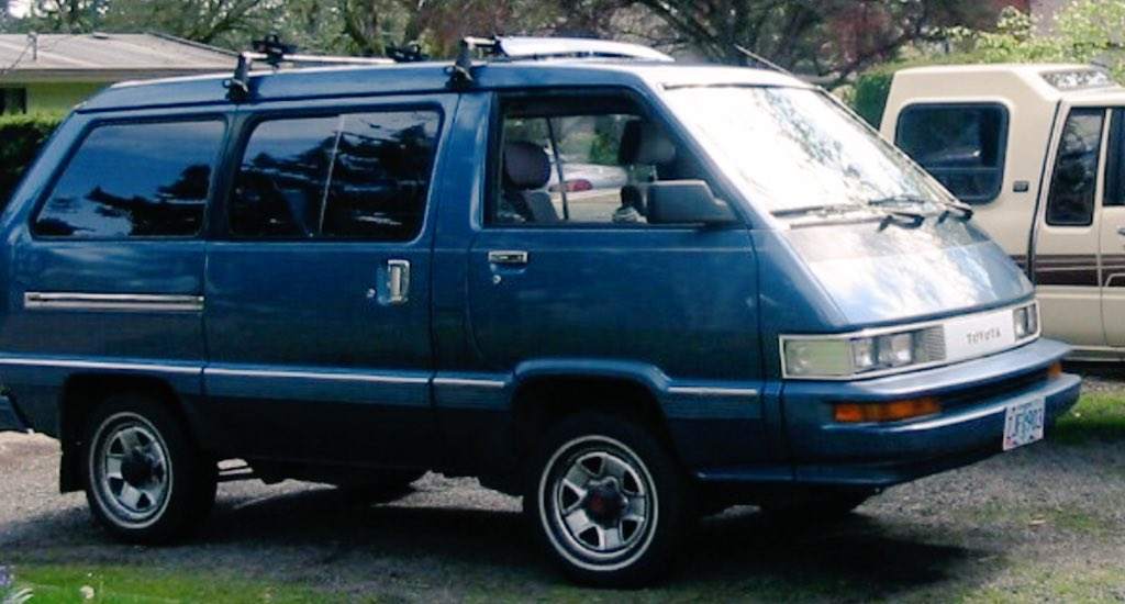 90s minivans on twitter fun fact the toyota van was called simply van in the us market. Black Bedroom Furniture Sets. Home Design Ideas