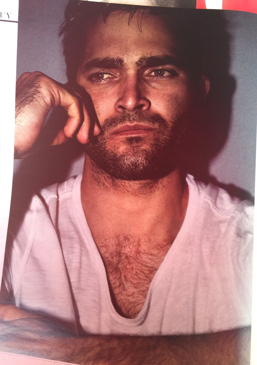 Here's a better look at Hoechlin's photo from the April issue of Interview Magazine until someone gets the HD one https://t.co/4cx7bFwovP