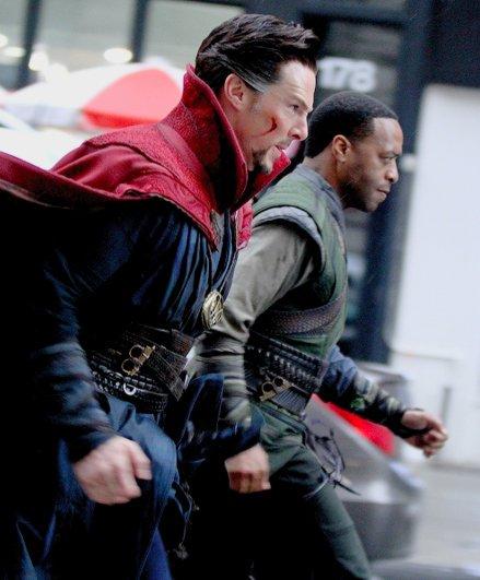 Marvel Studios' Doctor Strange Set Photos 23