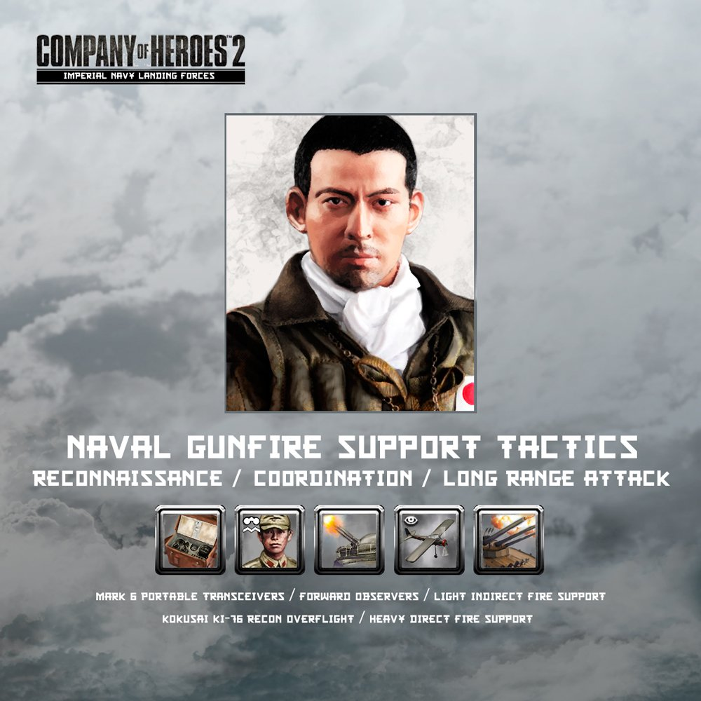 Coh2 Org On Twitter Companyheroes Naval Gunfire Assault Support Tactics Leaked For Japanese Imperial Navy Landing Forces Dlc Coh2 Https T Co Ew4bocs7w3
