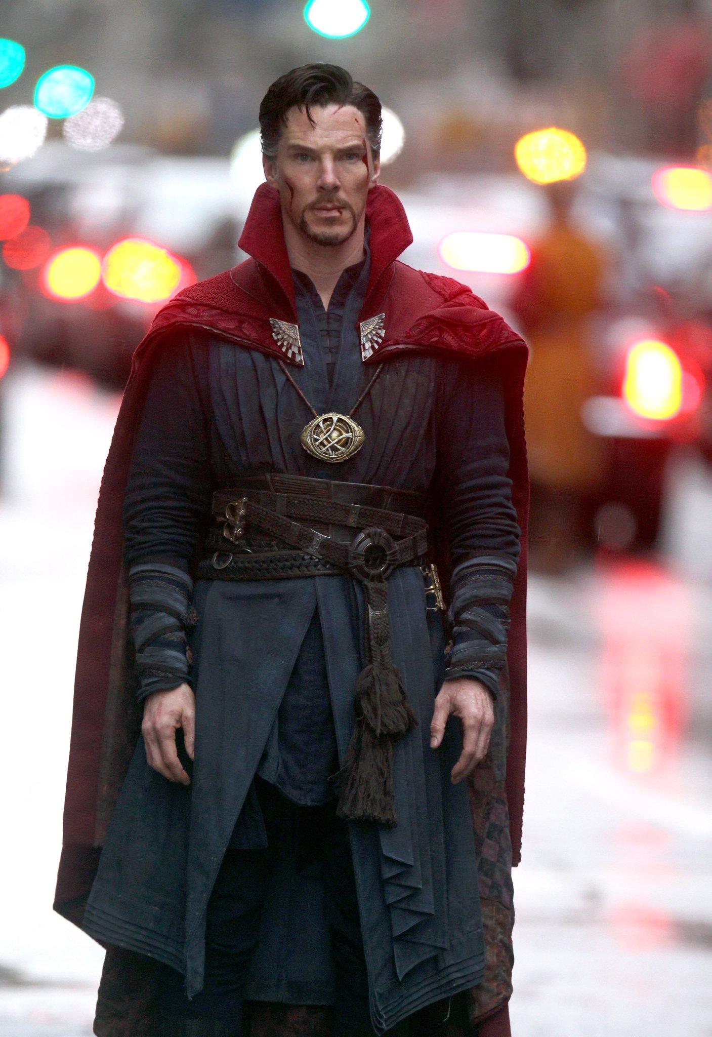 Marvel Studios' Doctor Strange Set Photos 17