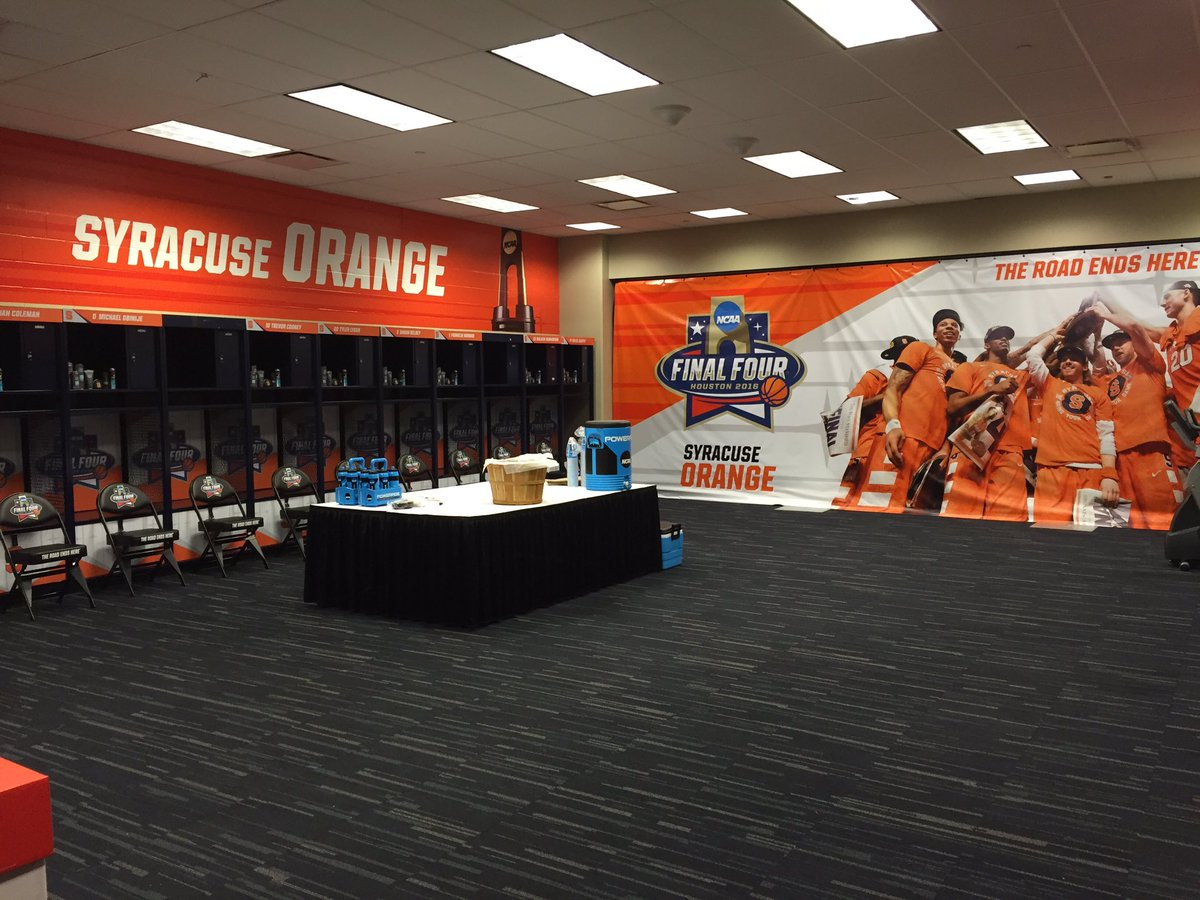 Syracuse Basketball On Twitter The Orange Locker Room Awaits The