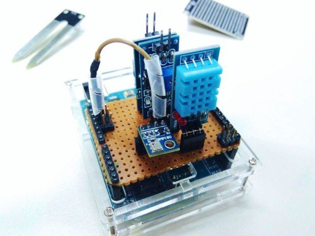 Raspberry Pi Weather Station - Hacksterio