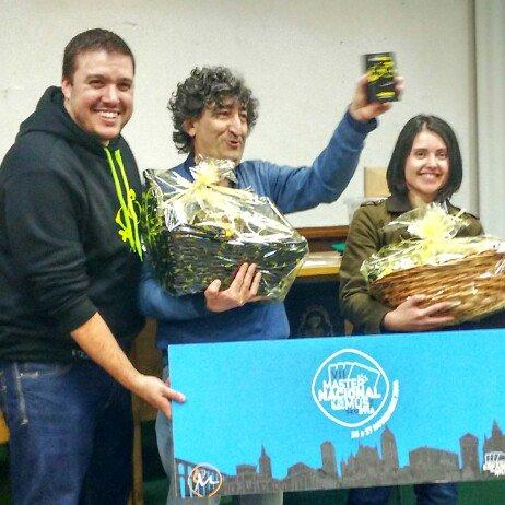 Cristal Reza Cardero y Andrés Tabarés Pérez, Campeones del I Torneo MusMixto