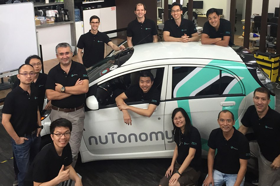 Driverless taxis are about to hit Singapore