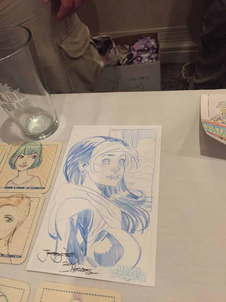 Sc comicon on twitter more awesome drawings from drink n draw sccc https t co 0kujqte3qj