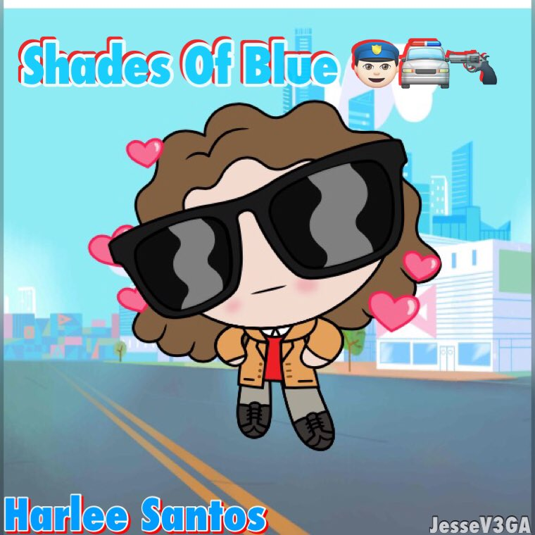 @JLo I PowerPuff you!! Meet #HarleeSantos as #HarleePuff #ShadesOfBlue @nbcshadesofblue @EGTisme https://t.co/wJ8BFfVJmX