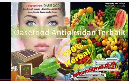 Oasefood produk kesehatan dan kecantikan