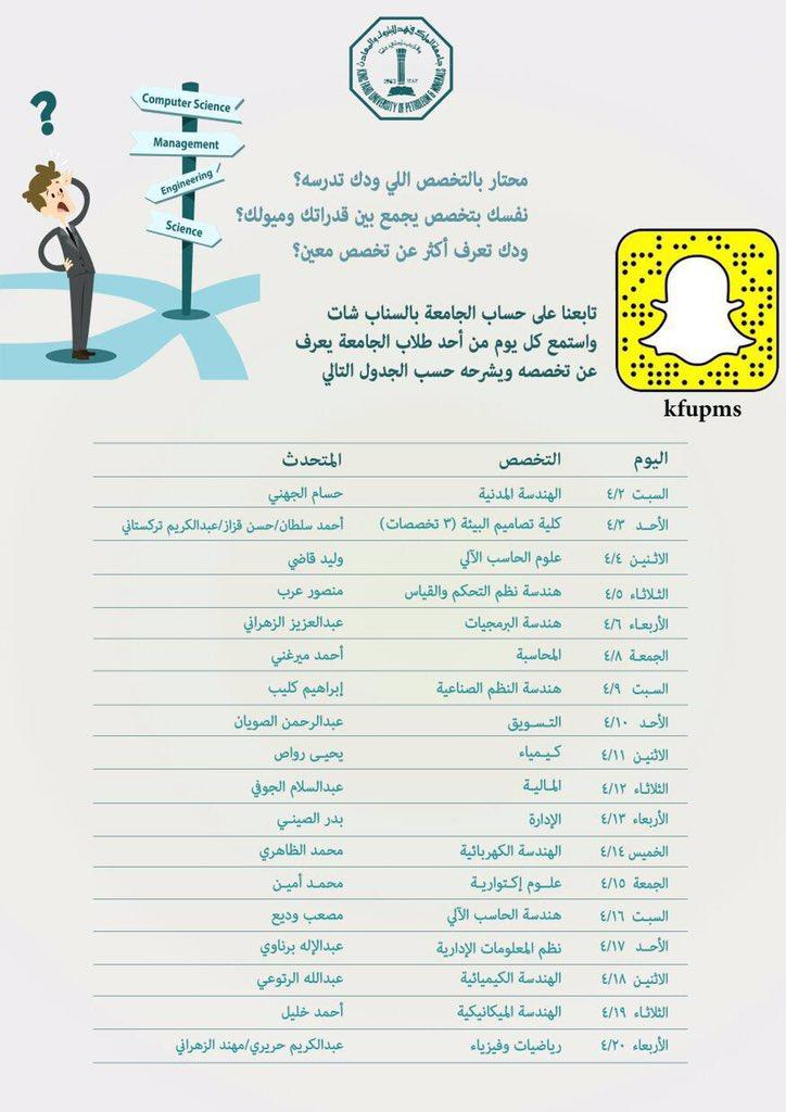 Stkfupm Auf Twitter طلاب جامعة الملك فهد للبترول والمعادن يعرفون