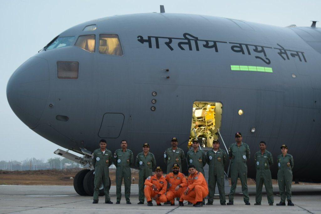 Indian Air Force (IAF): News - Page 8 CfGnuwVVAAAx1Xi