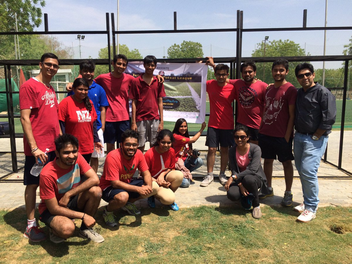 The energetic team of @plexusmd #TweetPlayBurp #futsal #startups #ahmedabad #AEFest https://t.co/oEdbbDTdmO