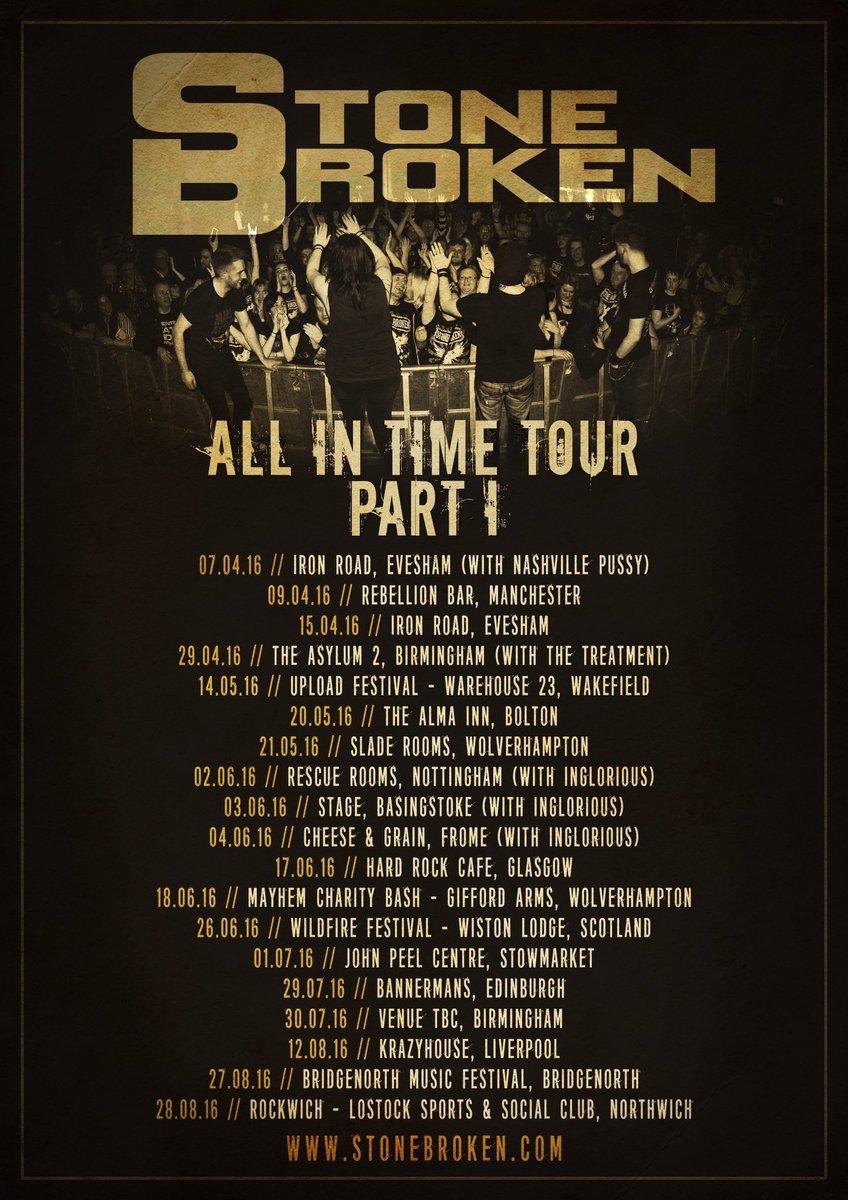 UK tour - keeps getting bigger