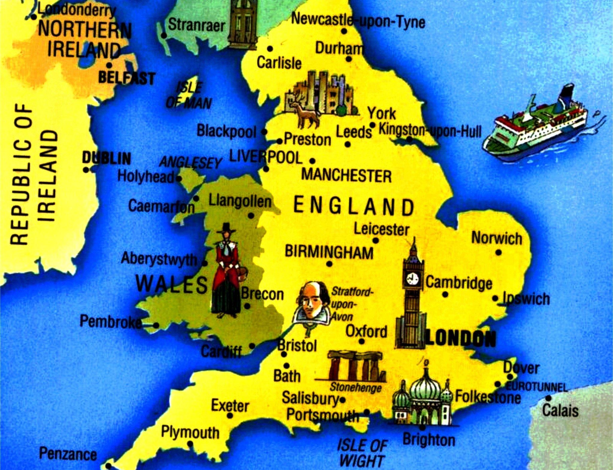 без картинки карт великобритании проверить