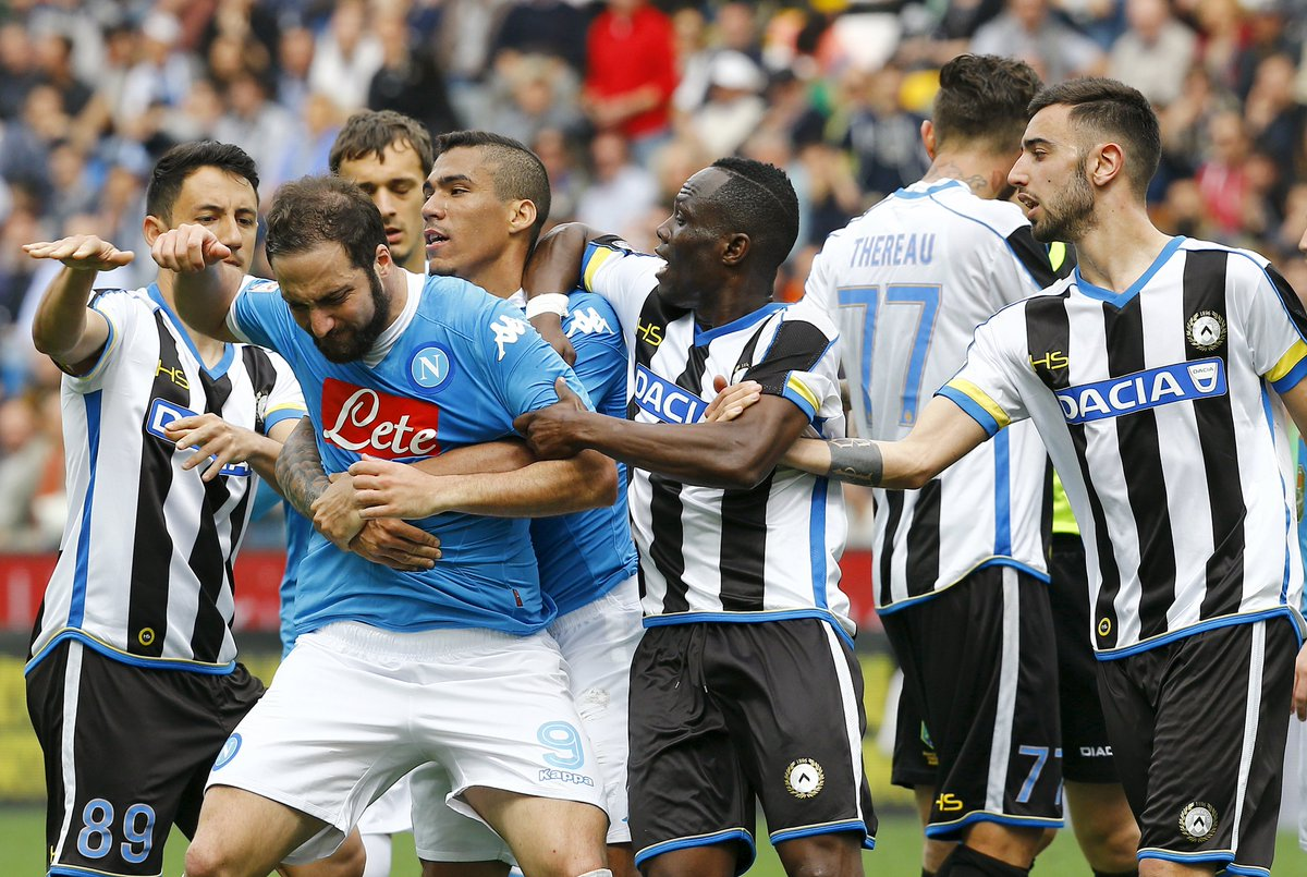 Video: Udinese vs Napoli
