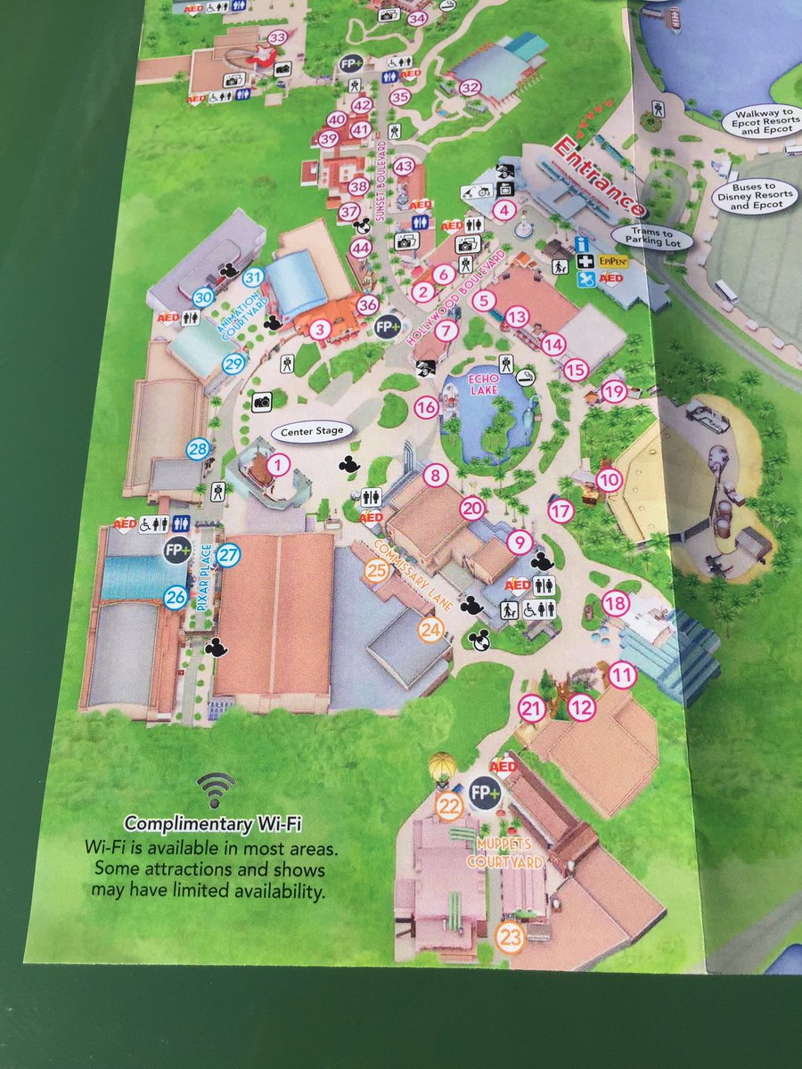 Map Of America Hollywood.Attractions Magazine On Twitter New Hollywood Studios Map Features
