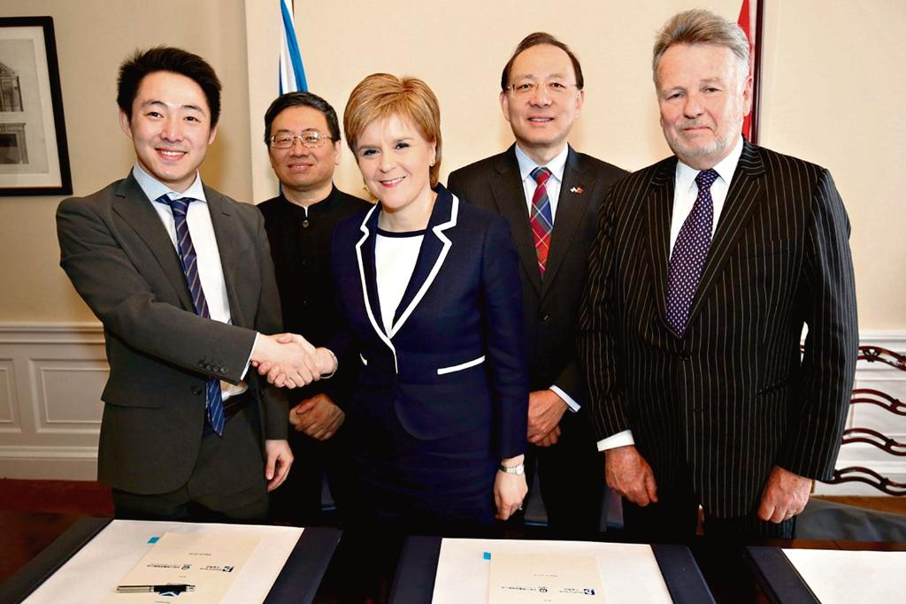 Thumbnail for Nicola Sturgeon has misled Scots on her secret China deal