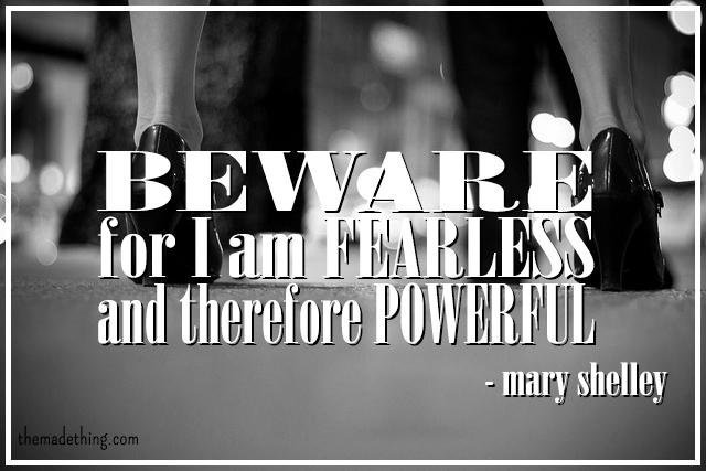 Tamara Mccleary On Twitter Beware For I Am Fearless And