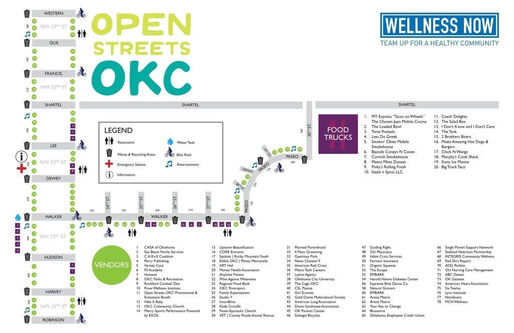 Beautiful day to be outside exploring @Uptown23rd & @PaseoOKC during @OpenStreetsOKC from 12-4pm!  ☀️