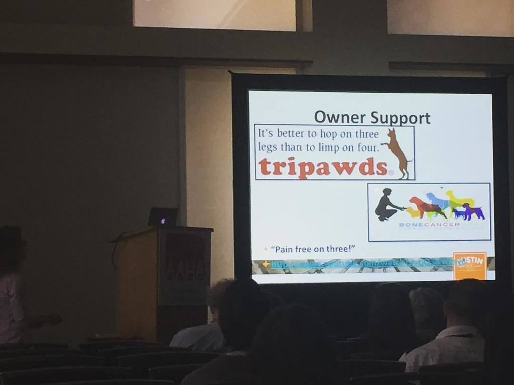 AAHA 2016 Tripawds veterinary conference