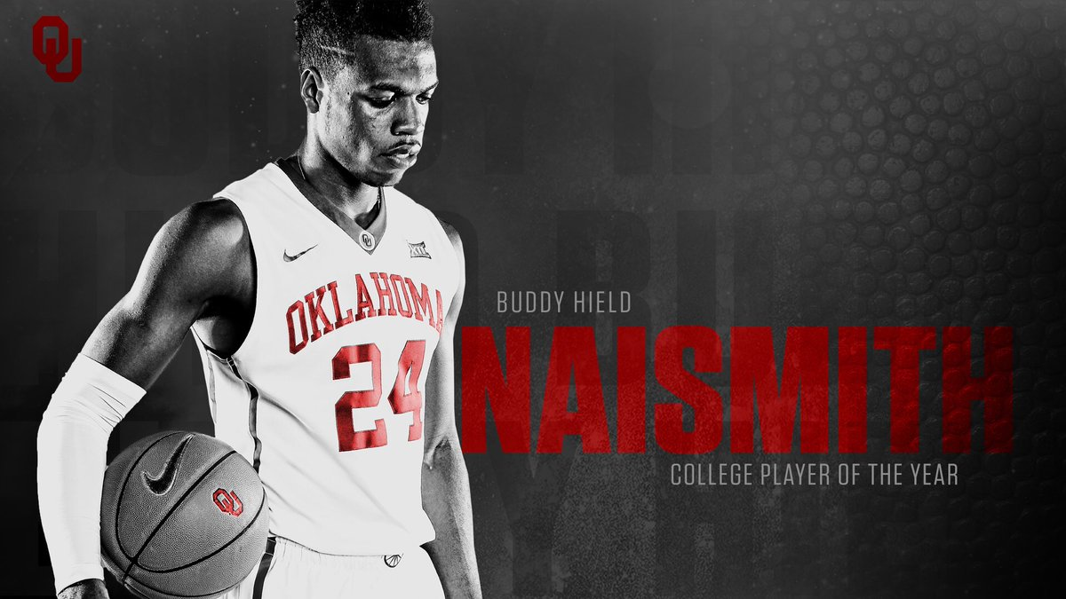 .@buddyhield named winner of the 2016 Naismith Trophy!