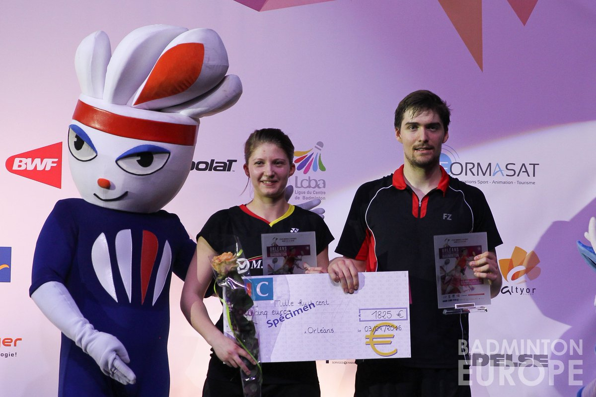 "Badminton Europe on Twitter ""Congrats Mathias Christiansen Lena"