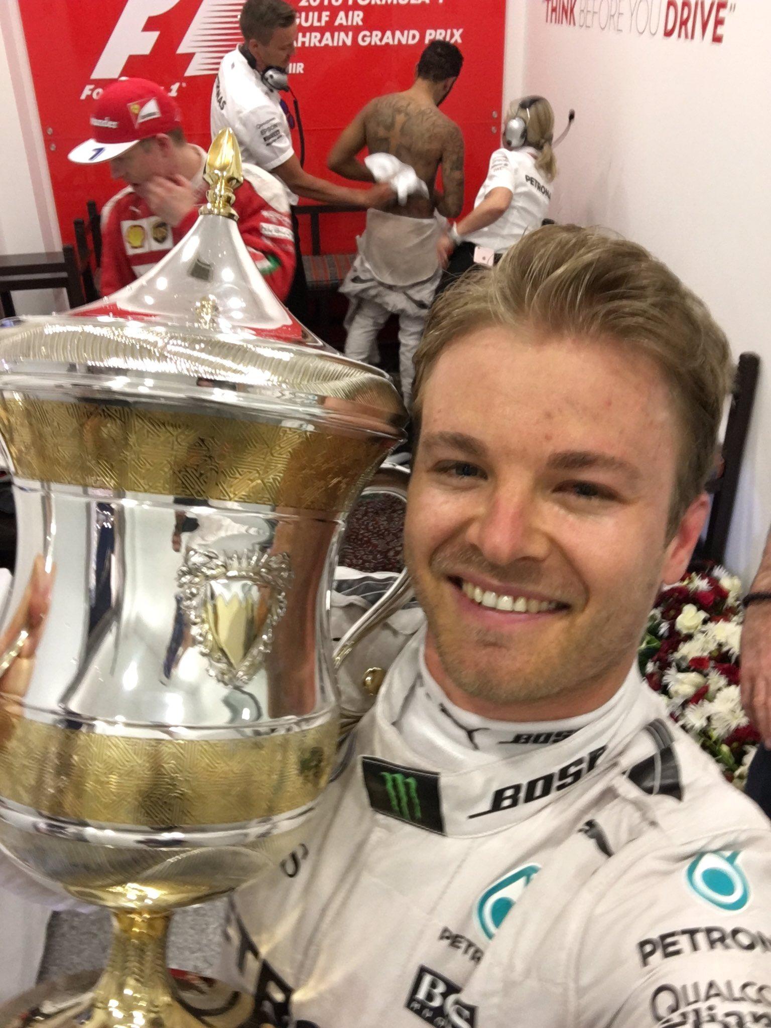 Rosberg Twitter