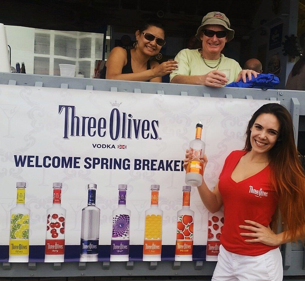NEW Three Olives Vodka Sunglasses