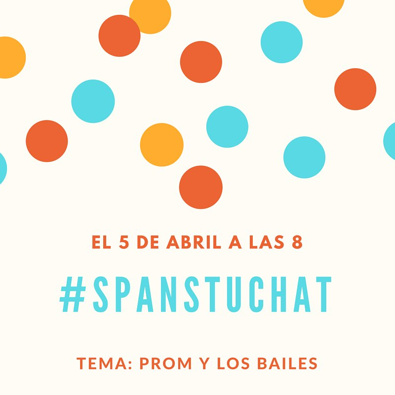 Thumbnail for #spanstuchat 4/5/16