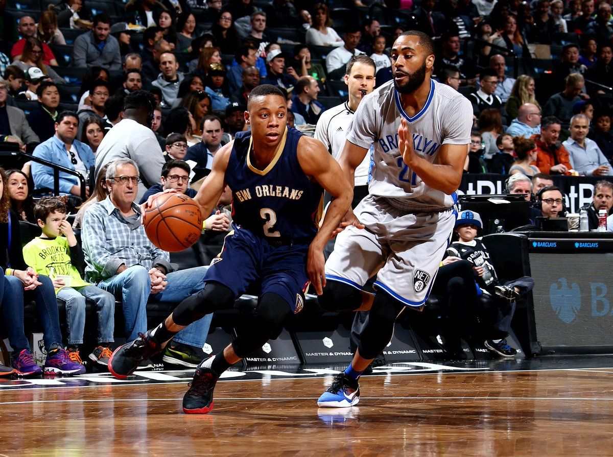 Tim Frazier is first player with 13 assists & 0 turnovers off the bench since Chris Duhon in 2008, per @PelicansPR https://t.co/ZPNwC5fCQL