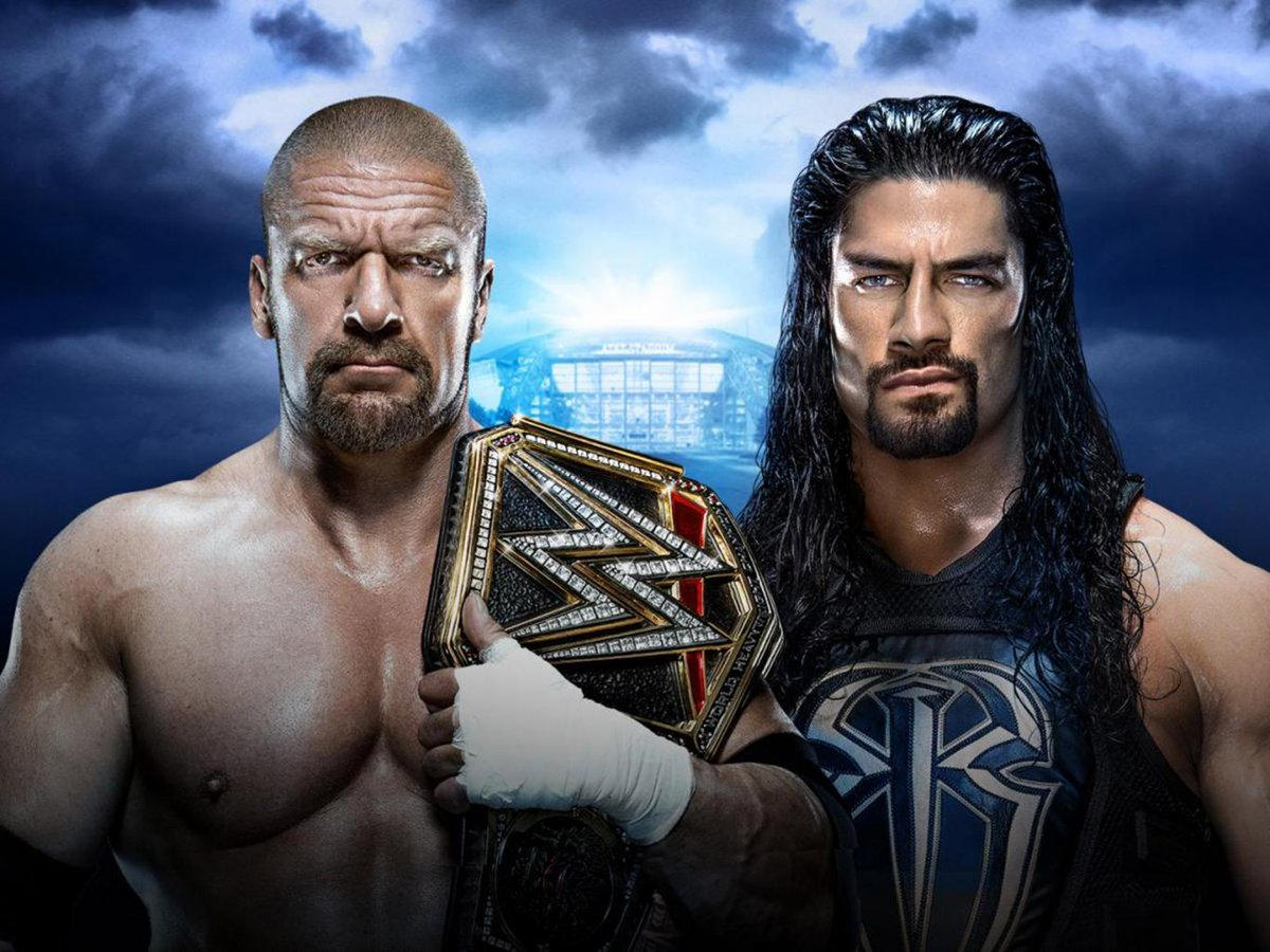 With less than two hours to go, here's everything you need to know about #WrestleMania https://t.co/VdblR7QqUW https://t.co/I6tz3f7xjV
