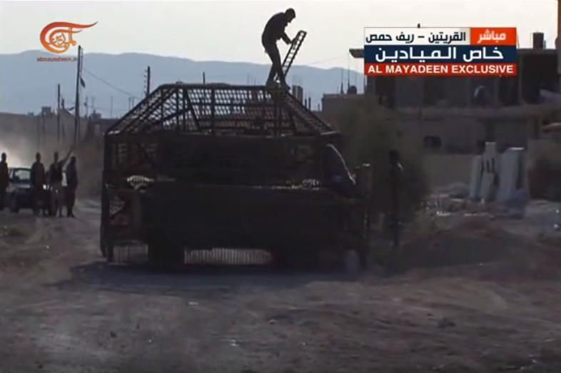 الوحش الفولاذي لدى قوات الجيش السوري .......الدبابه T-72  - صفحة 3 CfJov6VWIAE0eeQ