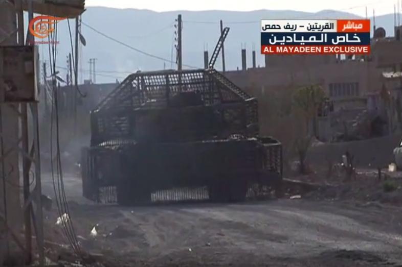 الوحش الفولاذي لدى قوات الجيش السوري .......الدبابه T-72  - صفحة 3 CfJowZkXEAQEfe5