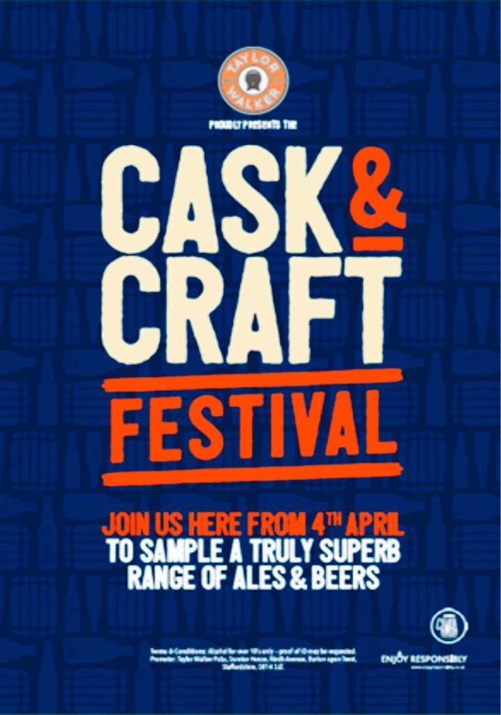 Taylor Walker On Twitter Craft Cask Festival From April 4th Win A Trip To Our Greene King Brewery Pick Up A Festival Booklet For Details Https T Co 3barjwtwxp